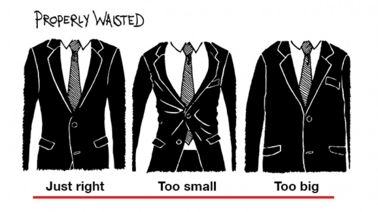 The Perfect Fit – Jacket Waist