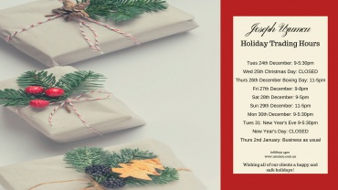 SHOP AT GAWLER PLACE THESE HOLIDAYS!